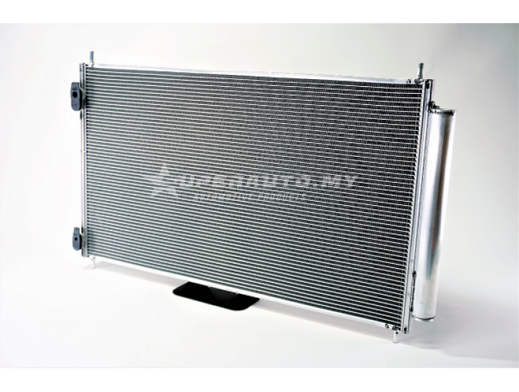 Denso condenser for Toyota Prius C NHP 10 (2012)